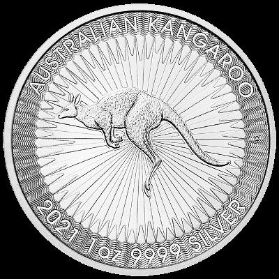 1 Oz. Australien - Kangaroo 2021 (Perth Mint)