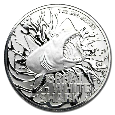 1 Oz. Australien - Great White Shark 2021 (RAM)