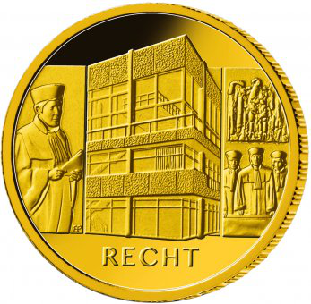 100 Euro BRD - Recht 2021 - J
