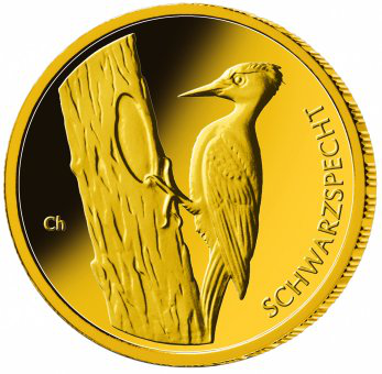 20 Euro BRD - Schwarzspecht 2021 - D