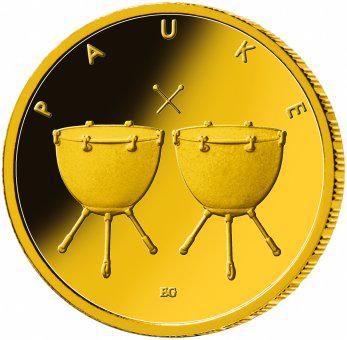 50 Euro BRD - Pauke 2021 - F
