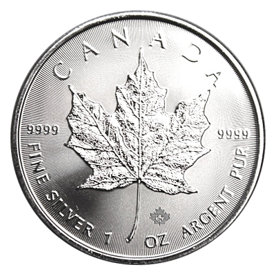 1 Oz. Canada - Maple Leaf 2021