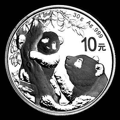 30 Gramm China - Panda 2021