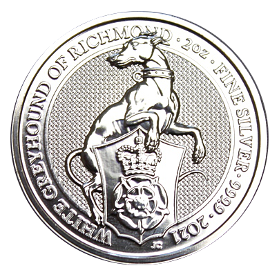 2 Oz. Großbritannien - White Greyhound of Richmond - 2021