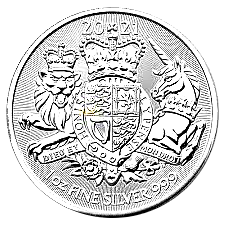 10 Oz. Großbritannien - Royal Arms 2021