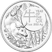 1 Oz. Australien - Ochse 2021 (RAM)