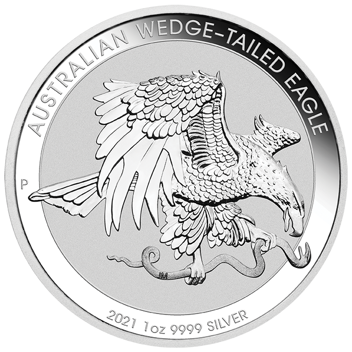 1 Oz. Australien - Wedge-Tailed Eagle 2021