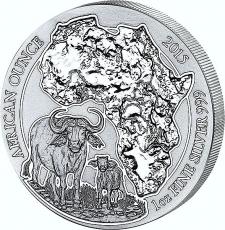 1 Oz. Ruanda - Kaffernbüffel 2015