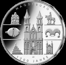 10 Euro - Magdeburg (2005 - Spgl.)