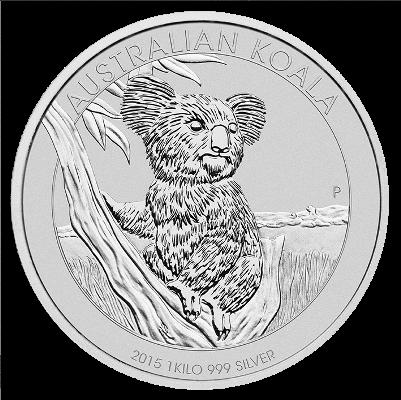 1 Kg Australien - Koala 2015