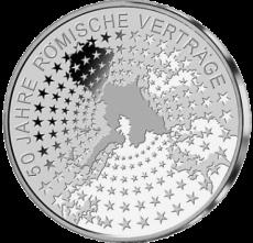 10 Euro - 50 Jahre Römische Verträge (2007 - Spgl.)