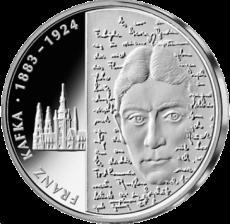 10 Euro - 125. Geburtstag Franz Kafka (2008 - Spgl.)