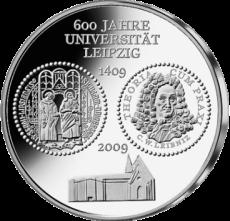 10 Euro - 600 Jahre Universität Leipzig (2009 - Spgl.)
