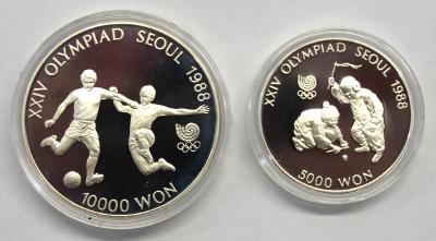 5000 + 10000 Won - Olympiade Seoul (7)