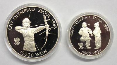 5000 + 10000 Won - Olympiade Seoul (3)