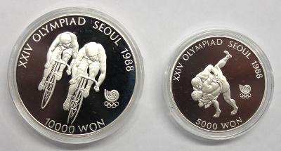 5000 + 10000 Won - Olympiade Seoul (8)
