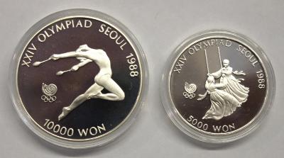 5000 + 10000 Won - Olympiade Seoul (5)