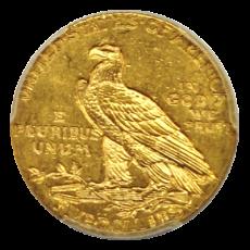 5 Dollars USA - Indianer 1912 (PCGS MS62)