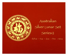 0,50 Oz. - 10 Oz. Australien - Tiger 2010 (Lunar II) in Box