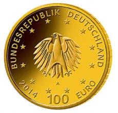 100 Euro BRD - Kloster Lorsch 2014 - G