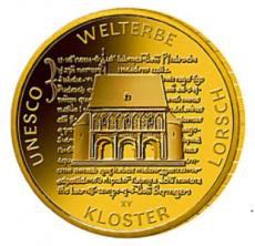 100 Euro BRD - Kloster Lorsch 2014 - F