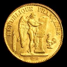 Frankreich - 20 Ffr. - Genius