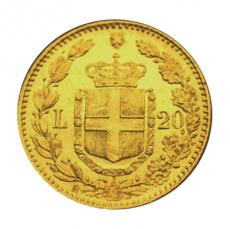 Italien - 20 Lire - Umberto