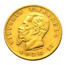 Italien - 20 Lire - Vittorio Emanuelle II