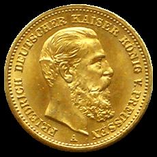 J 248 - 20 Mark Preußen - Friedrich III