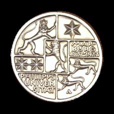 J 330 - 3 RM - 400 Jahre Uni Marburg 1927 - A (vz)