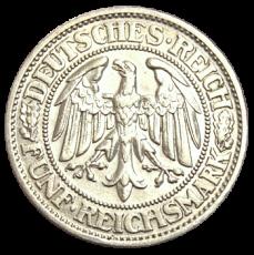 J 331 - 5 RM - Eichbaum 1929 - D (ss)