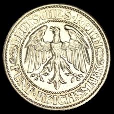 J 331 - 5 RM - Eichbaum 1931 - E (ss)