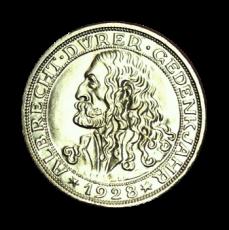 J 332 - 3 RM - 400 Todestag v. A. Dürer 1928 - D (prfr.)