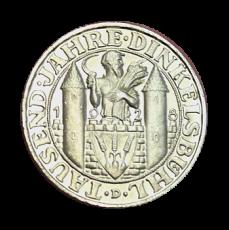 J 334 - 3 RM - 1000 Jahre Dinkelsbühl 1928 - D (prfr.)