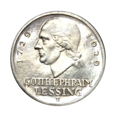 J 335 - 3 RM - G. E. Lessing 1929 - E (ss-vz)