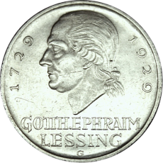 "J 336 - 5 RM - G. E. Lessing ""G"" - (vzgl.)"