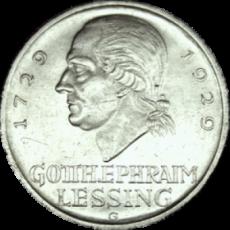 J 336 - 5 RM - G. E. Lessing 1929 - G  (vzgl.)