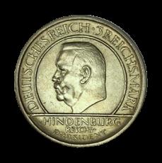 J 340 - 3 RM - Treu der Verfassung 1929 - A (vz)