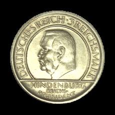 J 340 - 3 RM - Treu der Verfassung 1929 - D (vz)