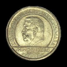 J 340 - 3 RM - Treu der Verfassung 1929 - F (vz)