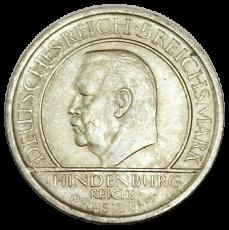 J 341 - 5 RM - Treu der Verfassung 1929 - A (vz-prfr.)