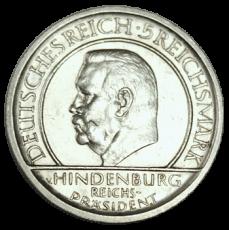 J 341 - 5 RM - Treu der Verfassung 1929 - E (vz)