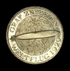 J 342 - 3 RM - Graf Zeppelin 1930 - A (vz - aus PP)