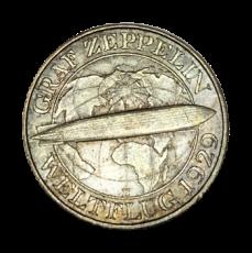 J 342 - 3 RM - Graf Zeppelin 1930 - E (vz)