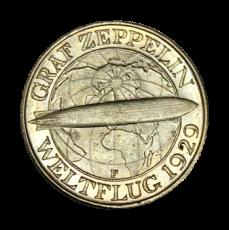 J 342 - 3 RM - Graf Zeppelin 1930 - F (vz)