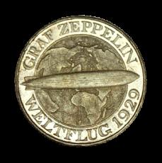 J 342 - 3 RM - Graf Zeppelin 1930 - J (vz)