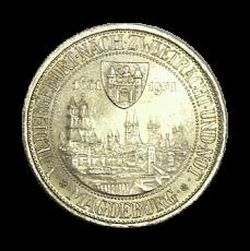 J 347 - 3 RM - Magdeburg 1931 - A (vz-prfr.)