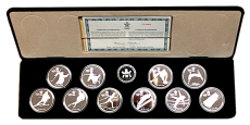 10 x 20 $ Canada - Olympiade Calgary 1988 (Proof)