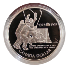 1 Dollar 1997 (Proof)  -  Hockey Series Canada - U.S.S.R