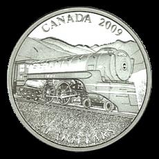 "20 $ Canada 2009 - Serie ""Lokomotiven"""